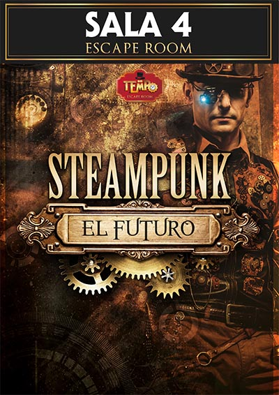 sala steampunk el futuro